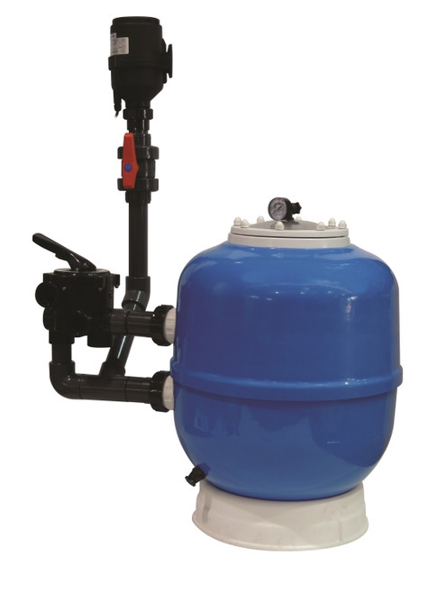 Evolution Aqua K1 Micro Bead 30 Pressurized Filter With Media Included