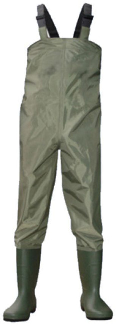 Lotus Pond Chest Waders Medium UK Shoe Size 9.5