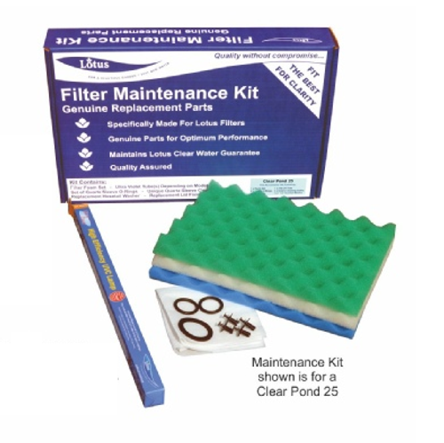 Lotus Clear Pond 50 Filter Maintenance Kit