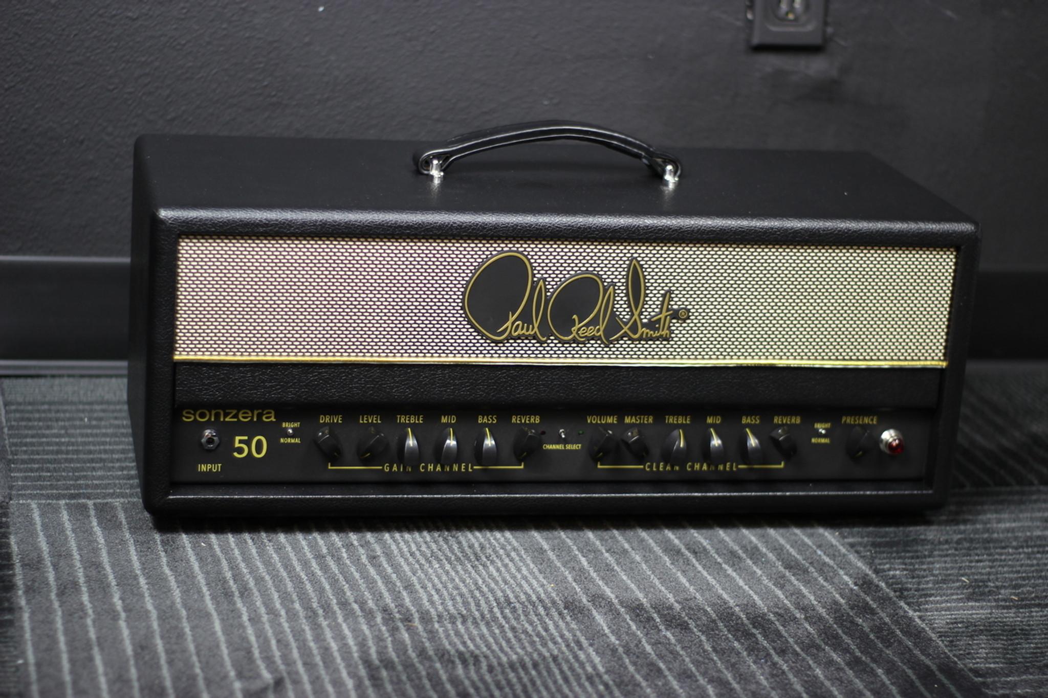 Prs Sonzera 50 Watt Head Musician Madness Watts Audio Power Amplifier