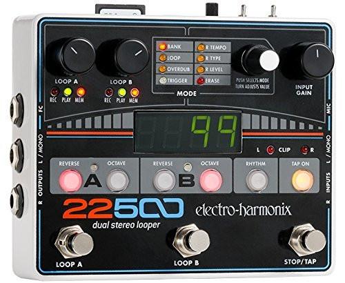Electro Harmonix 22500 LOOPER Dual Stereo Looper, 9.6DC-500 PSU included