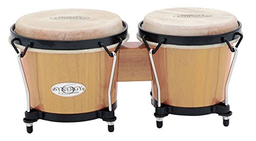 Toca a 2100N Synergy Wood Bongos - Natural