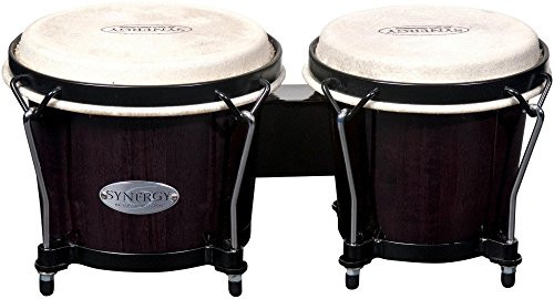 Toca a 2100TB Synergy Wood Bongos - Transparent Black