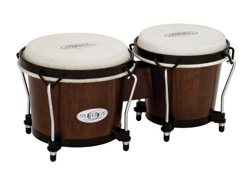 Toca a 2100TOB Synergy Wood Bongos - Tobacco