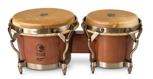 Toca A - 3900D Traditional Dark Walnut Finish Bongos