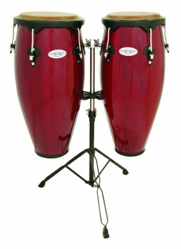 Toca a 2300RR Conga Drum Set, Red