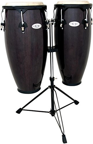Toca a 2300TB Synergy Series Conga Set with Stand - Transparent Black