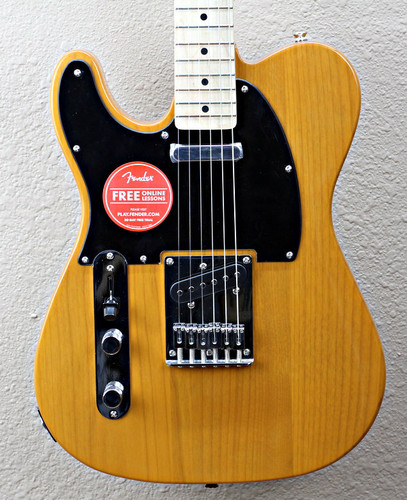 Squier Affinity Series Left-Handed Telecaster Special Electric Guitar w/Hardshell Case