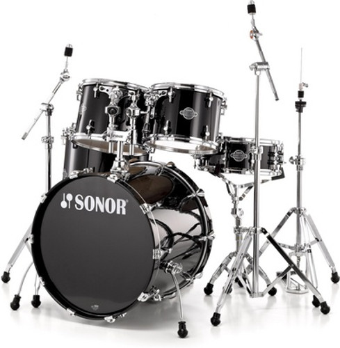 Sonor Select Force  Piano Black- Maple Shell Pack-(Blow Out)