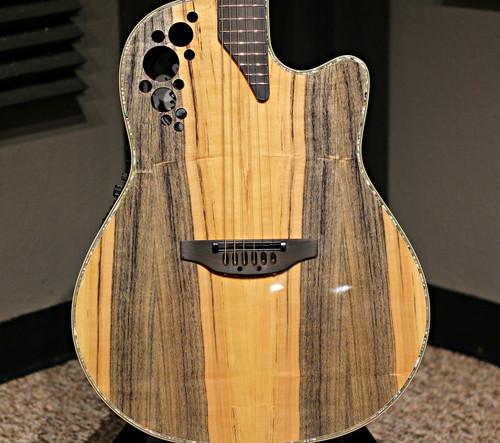 Ovation Elite Plus C2078AXP Acoustic Guitar Dragon Wood