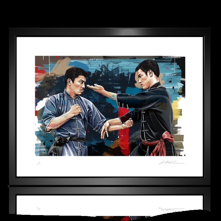 Bruce Lee and Taky Kimura