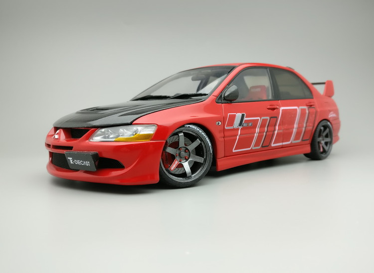 Mitsubishi Lancer Evolution VIII RalliArt AA Custom