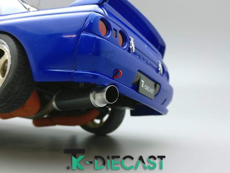 Nissan R32 GT-R Skyline Exhaust