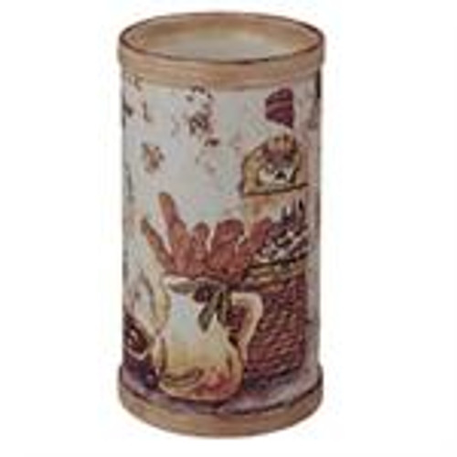 Hand Painted Ceramic Olive Theme Wine Pitcher Chiller