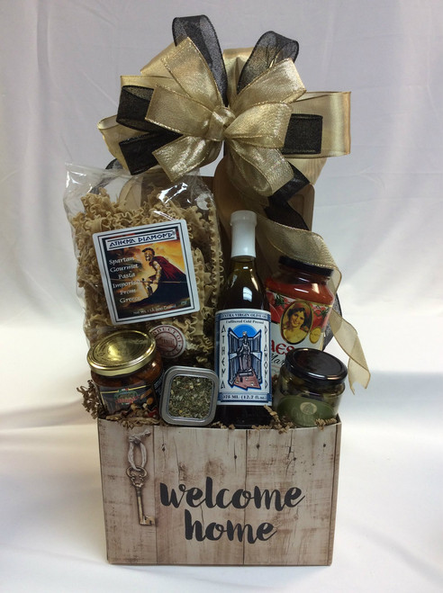 Rustic Welcome Home Pasta Gift Basket
