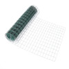 16 Gauge Green Vinyl Coated Welded Wire Mesh Size 2 inch by 3 inch