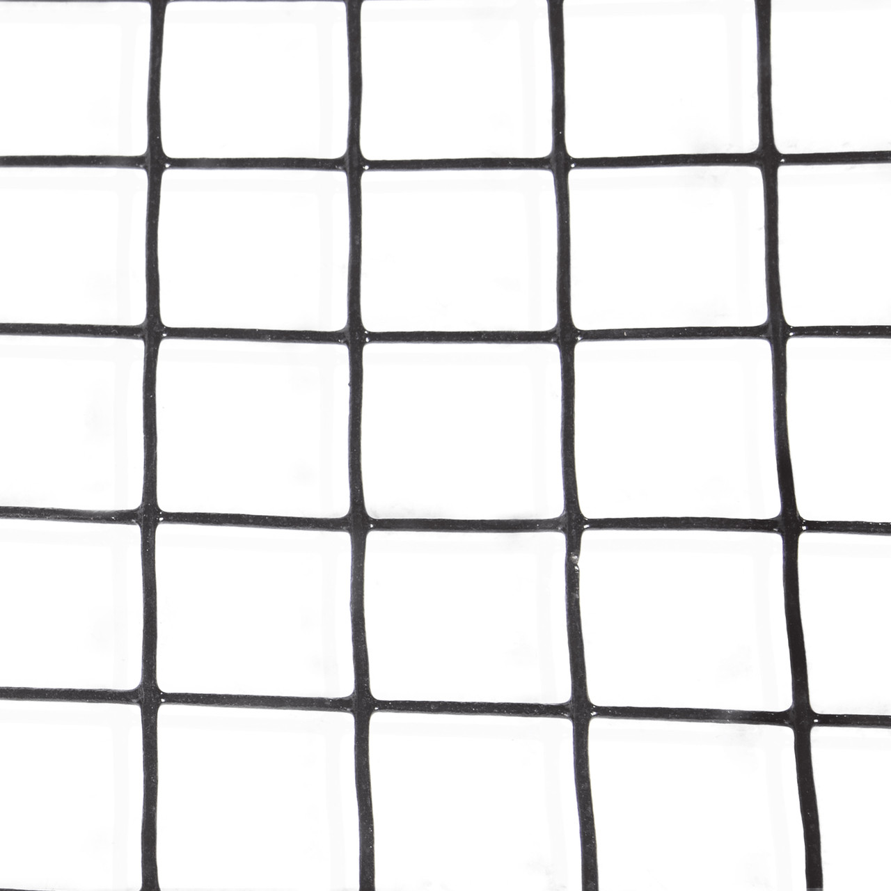 16 Gauge Black Vinyl Coated Welded Wire Mesh Size 1.5 inch by 1.5 ...