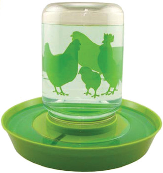 Chicken Feeder with Waterer