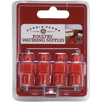 Watering Nipples, 4 Pack