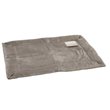 Self-Warming Crate Pad Gray