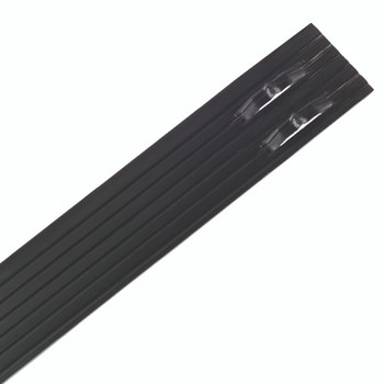 "Sure-Loc 1/8"" x 4"" x 8' Professional Aluminum Landscape Edging Black Paint"