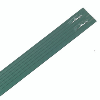 "Sure-Loc 1/8"" x 4"" x 8' Professional Aluminum Landscape Edging Green Paint"