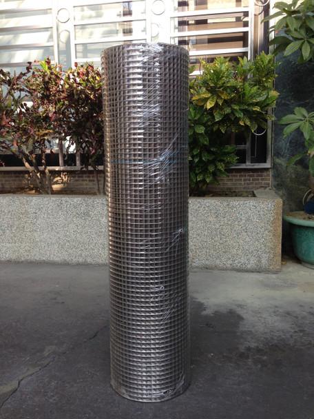 Stainless Steel Welded Wire 18ga 3'X100' 1/2mesh