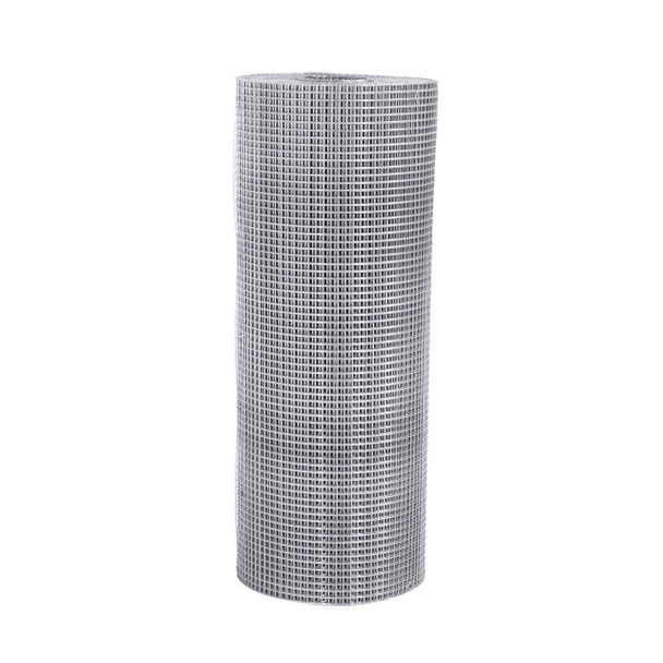 "Fencer Wire 16 Gauge Stainless Steel Welded Wire with Mesh Size 0.5"" x 0.5"""