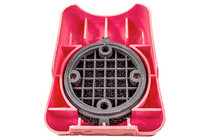 Air Cleaner with Red Plastic Cover