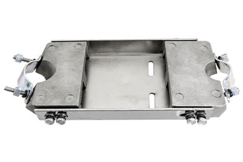 Chrome V-Frame Mounting Plate Kit