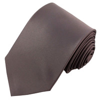 Dark Gray Polyester Ties
