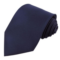 Navy Polyester Ties