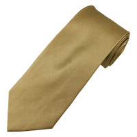Taupe Satin Silk Ties