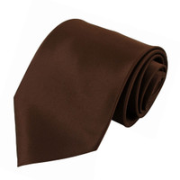 Brown Polyester Ties