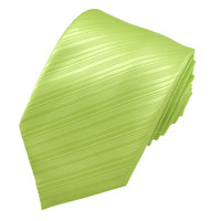 Lime Tonal Diagonal Stripe Tie