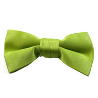 Apple Green Band Bowties