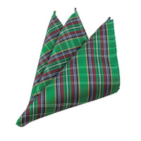 Classic Green Plaid Hanky