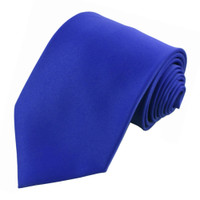 Royal Blue Polyester Ties