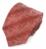 X-Long Red Pattern Tie #948572