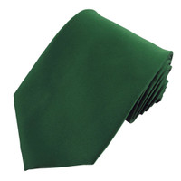 Hunter Solid Polyester Ties