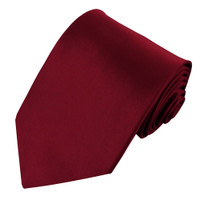 Wine Polyester Ties