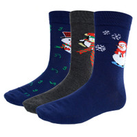 Men's Christmas 3 Pair Pack Socks / #2