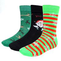 Men's Christmas 3 Pair Pack Socks / #1
