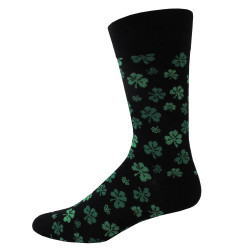 Men's Clover Socks / Black