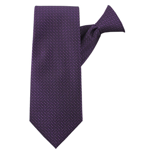 Purple Perfection Clip On Tie