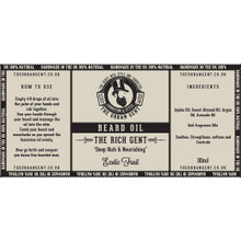 The Rich Gent- Exotic Fruit Beard Oil