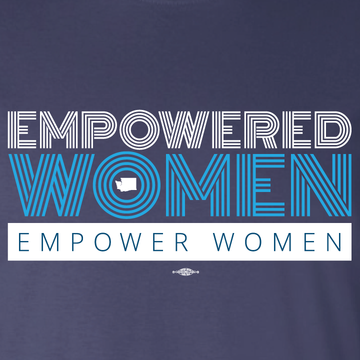 Empowered Women Empower Women (Navy Tee)
