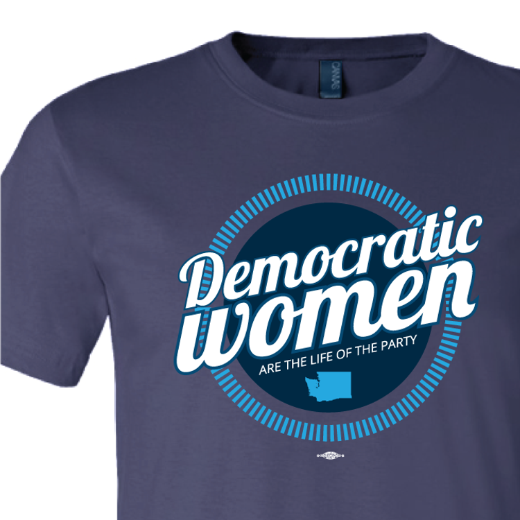 Democratic Women (Navy Tee)