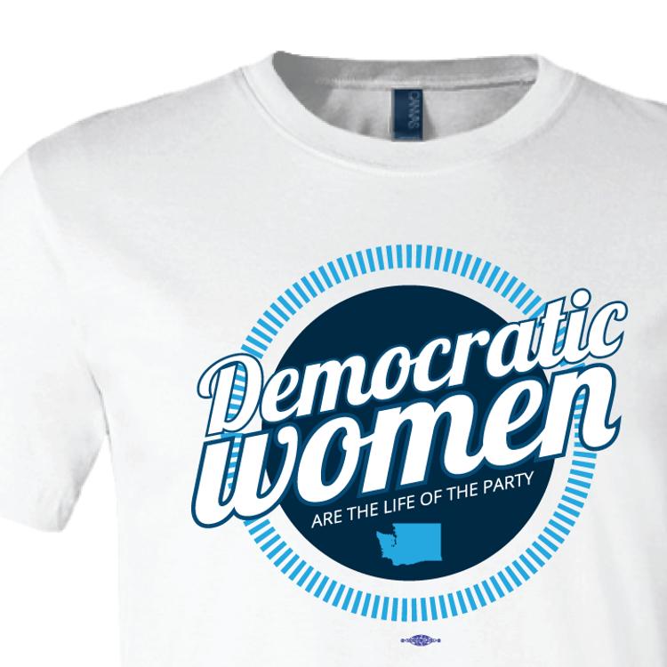 Democratic Women (White Tee)