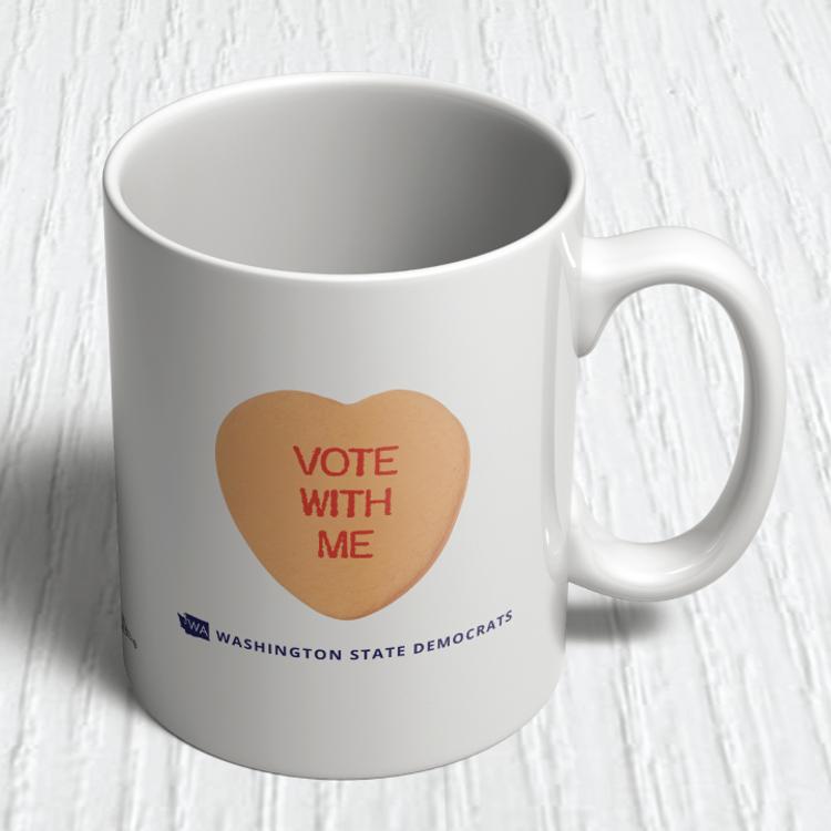 Vote With Me (11oz. Coffee Mug)